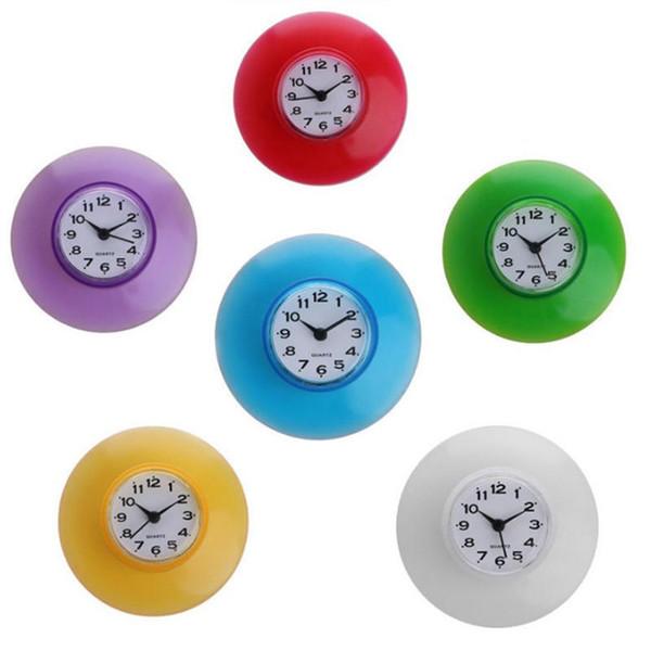 Acheter Horloge Murale Ventouse Réfrigérateur Décoration Créative Mini  Cuisine Étanche Salle De Bain Douche De $6.08 Du Qh198822 | DHgate.Com