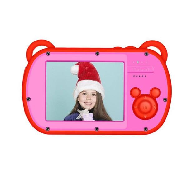 VODOOL K6 Mini Chidren Video Camera 8X Digital Zoom 2.7inch Screen 18MP DSLR Camera Video Recorder Camcorder for Kids Gift