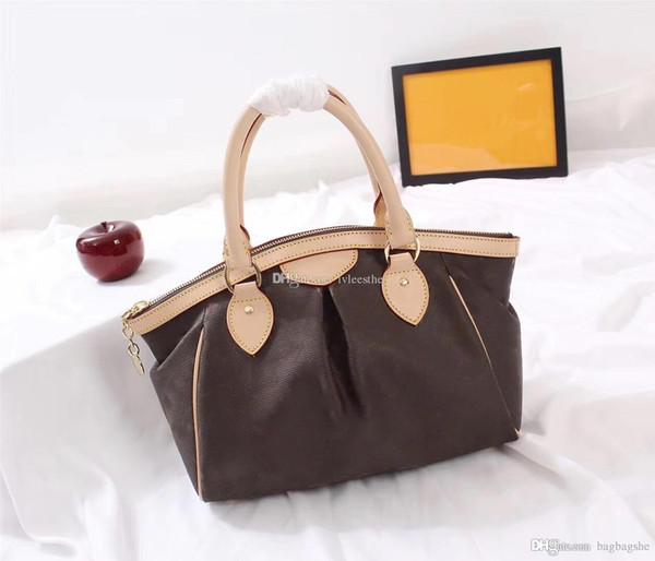 de primera calidad, 2018- lujo de estilo clásico de los bolsos del diseñador de moda femenina hechas a mano bolso de mano bolsa de mensajero totalizadores del bolso M40143 M40144
