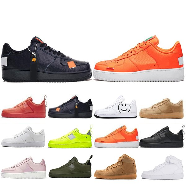 Top Fashion Utility Classic Black White Dunk Men Women Casual Shoes red one Sports Skateboarding High Low Cut Wheat Trainers Sneakers 36-45