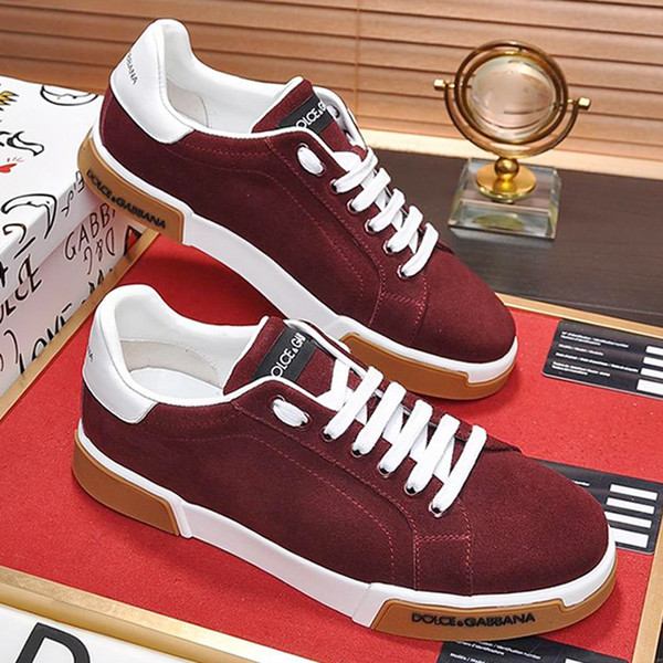 New Arrival Mens Shoes High Quality Lightweight Scarpe da uomo Low Top Luxury Lace-up Breathable Men Shoes Soft Footwears Fast Delivery