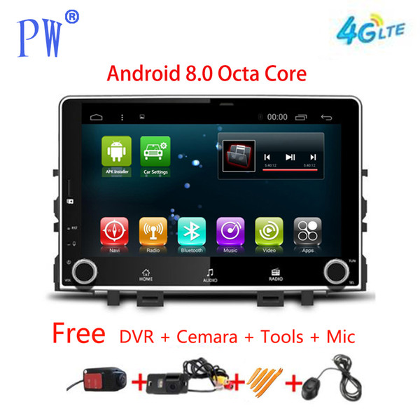 Android 7.1/8.0 Car Radio GPS Navigation for Kia Rio 2017 2018 Car Multimedia Player Stereo no DVD Headunit Video Navi Wifi BT