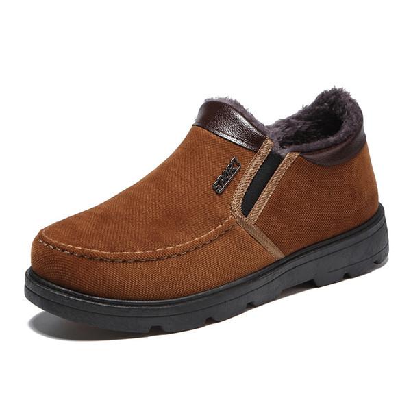 Amarillo Gruesa Marrón Suela Zapatos De Hombres Nuevos Compre nxzqRXpR