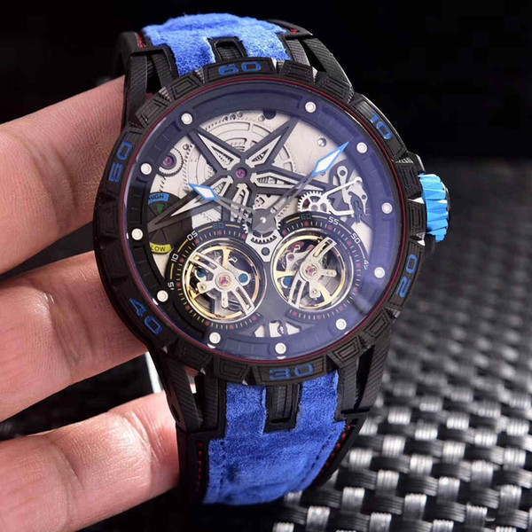 Luxury wristwatches men brand Watches Casual Date Business Male Wristwatches 45mm 12mm Waterproof automatic machinery lot drop shipping.
