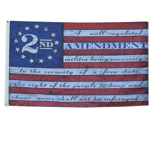 Segunda 2ª alteração bandeira americana bandeira