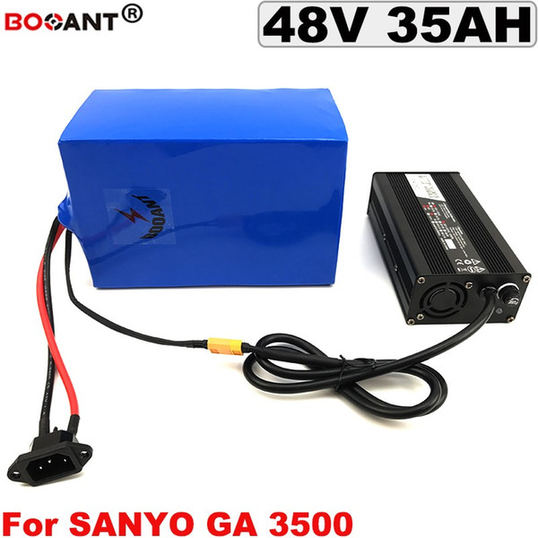 48v 35ah e-bike lithium battery for bafang bbshd 2000w motor electric motorbike battery 13s 10p 48v +5a charger ing