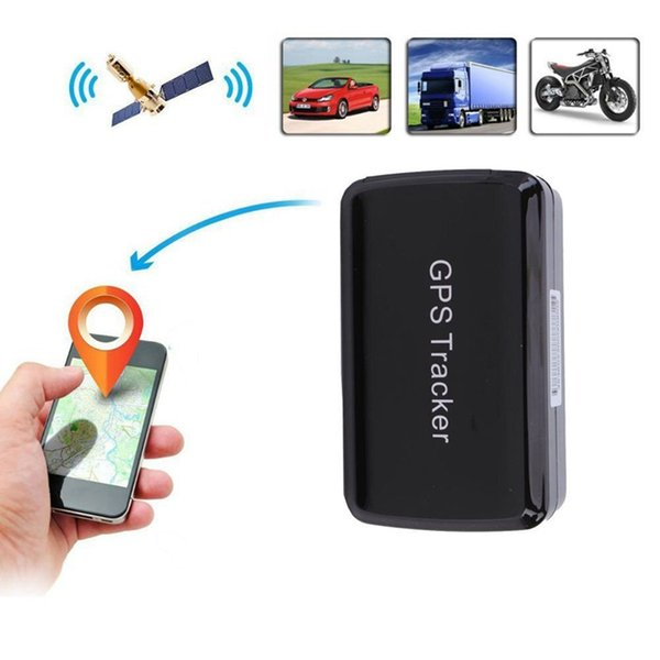 Mini tracker GPS impermeabile, sistema di localizzazione GPS / GSM / GPRS con mini tracker magnetico portatile wireless nascosto Non è necessario nstal