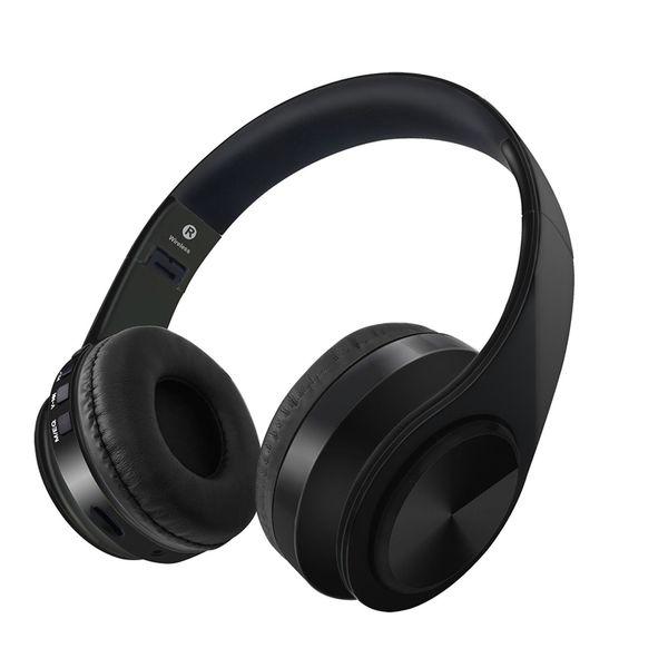 Gaming Headset Auriculares D4 Auriculares Plegables Auriculares Versión D4 Heavy Bass Sports Music Mic Manos Libres Auricular inalámbrico