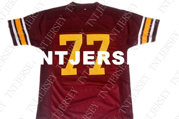 timeless design 6c2a7 ffb9b 2019 Wholesale Anthony Munoz #77 USC Trojans New Football Jersey Maroon  Stitched Custom Any Number Name MEN WOMEN YOUTH Football JERSEY From ...