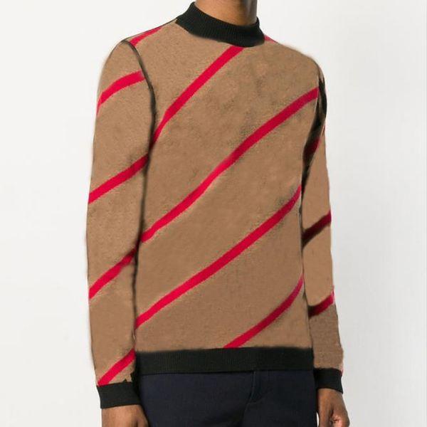Herren Pullover Pullover Herren Marken Deisgner Hoodie Langarm Pullover Sweatshirt Brief Stickerei Strickwaren Warnen Winter Kleidung M-3XL ..