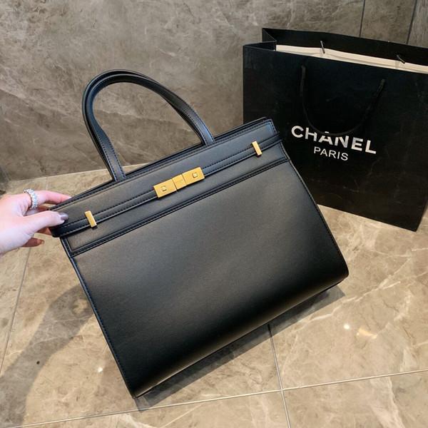 Shopping bags women leather handbags 2019 new simple atmosphere female handbag ladies wild shoulder Messenger bag Women handbags Wallet Tote