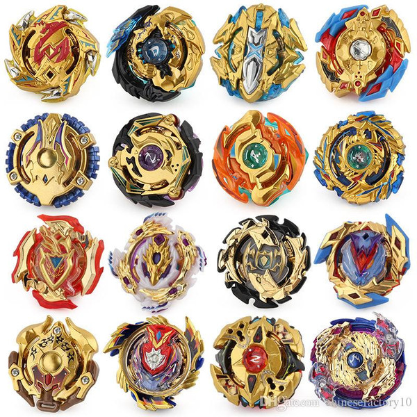 top popular 16 Upgraded 4D Beyblade Burst Toys Arena Beyblades Metal Fighting Explosive Gyroscope Fusion God Spinning Top Bey Blade Blades 2019
