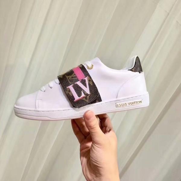 2019 Ins Hot Style Дизайнерская обувь Повседневная мода движение Мужские и женские туфли