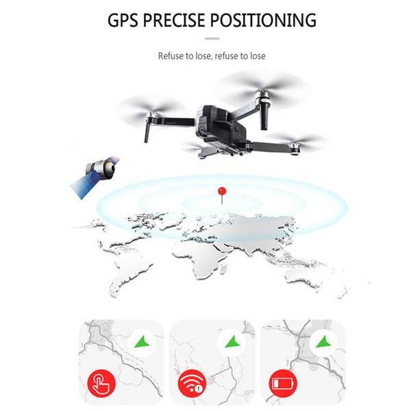 SJRC F11 GPS 5G Wifi FPV 1080P Kamera 25Min Flugzeit Brushless Selfie Drohne DE