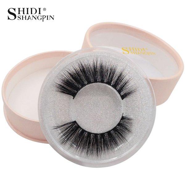 SHIDISHANGPIN 30 Boxes False Eyelashes 3d Mink Eyelashes Natural Long Wholesale Lashes Mink Handmade Crossing Makeup Lashes