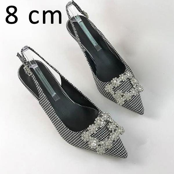 Черные туфли 8см