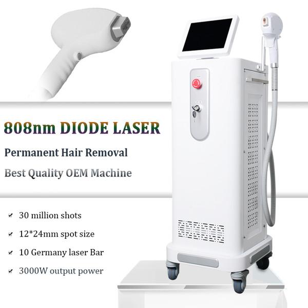 808nm diodo laser remoção de pêlos do corpo Biquíni remoção de pele pele equipamentos a laser fresco todos os tipos de pele