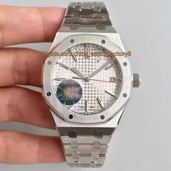 6 Style Best Quality JF Maker V5 Unisex 37mm Offshore 15450 15450ST.OO.1256ST.01 CAL.3120 Movement Transparent Ladies Watch Women's Watches