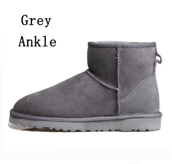 2 Grey ankle boots