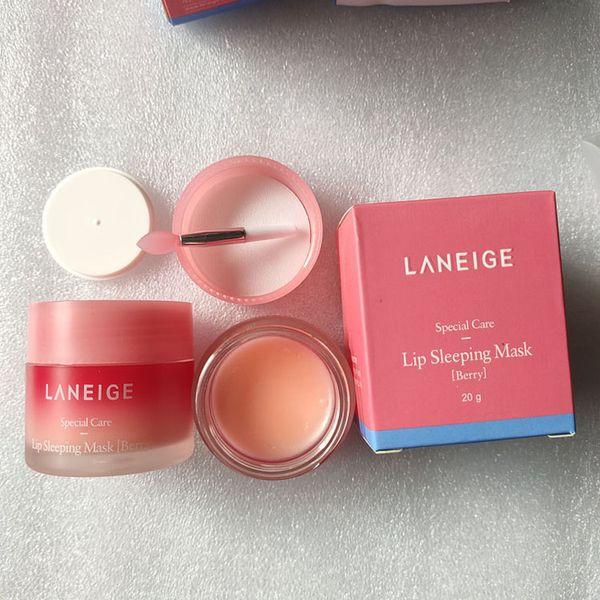 top popular Lip Balm Laneige Lip Care Cosmetic Special Care Lip Sleeping Mask LipBalm Lipstick Moisturizing Lipcare mask20g Highest quality 2021