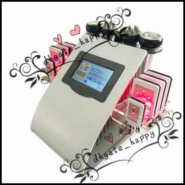 Cavitazione professionale sottile ultrasuoni liposuzione vuoto multipolare RF Lipo Laser dimagrante pelle ferma corpo scultura forma linfodrenaggio-0