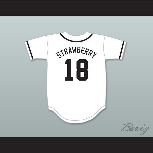 Darryl Strawberry 18 Salamanders Béisbol Jersey 1er Rock Derby Anual Diamond Derby