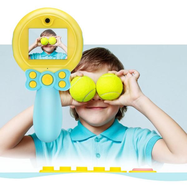 Bambini Camera Mini Digital Camera Toys Supporto TF Card Video Play Giochi fotografia educativa Regalo per bambini Regali di Natale con scatola al minuto