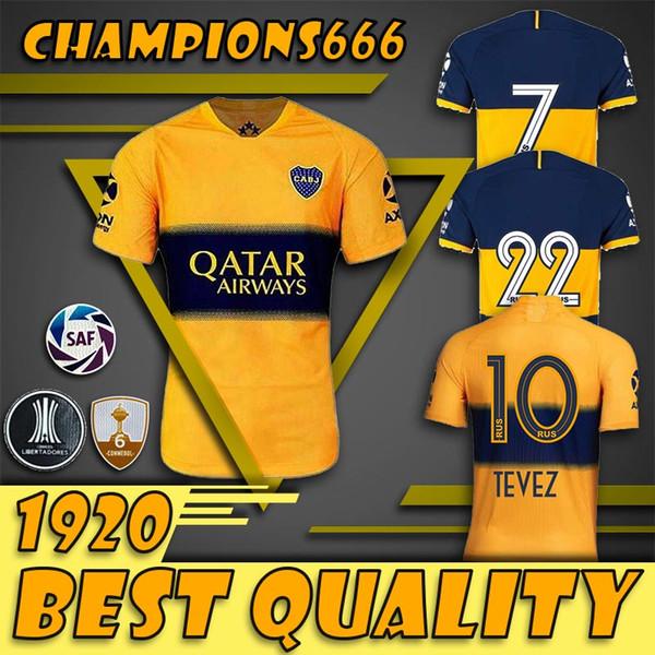 19 20 Boca Juniors home CAMISA DE TERCEIRO PERSONALIZE 2019 2020 camisa de futebol 26 Centurion 19 Bou 4 Peruzzi 9 Benedetto camisas de futebol