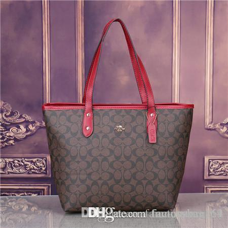 2019 estilos Bolsas de Couro Da Forma Bolsas Mulheres Tote Sacos de Ombro Bolsas De Couro Senhora Sacos de bolsa homens crossbody bag 1809