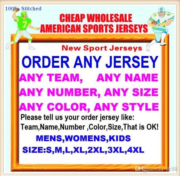 All Stitched Custom american football jerseys Tampa Bay Dallas college authentic cheap baseball basketball hockey jersey 4xl 5xl 8xl france