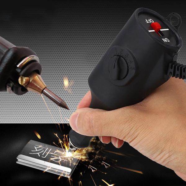 220V de mano grabadora eléctrica grabado herramienta de artesanía de pluma para metal de madera