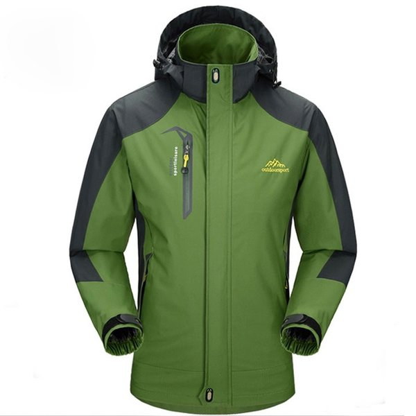 mountainskin 5xl men's jackets waterproof spring hooded coats men women outerwear army solid casual brand male clothing rs-197