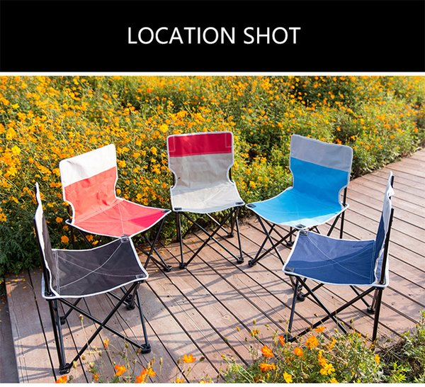 Magnificent Folding Chair Outdoor Fishing Camping Folding Reclining Portable Mini Small Chair Red Blue Beach Chair High Quality Lightweight Camping Furniture Gmtry Best Dining Table And Chair Ideas Images Gmtryco