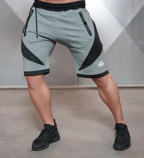 2019 ginásio de corrida ao ar livre dos homens de treinamento de lazer primavera e no verão apertado respirável calções calções de desporto