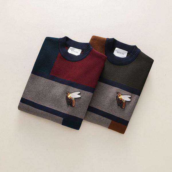 Мужские свитера теплый дизайн классические мужские новые зимние стильные повседневные трикотажные пуловеры хлопок 002