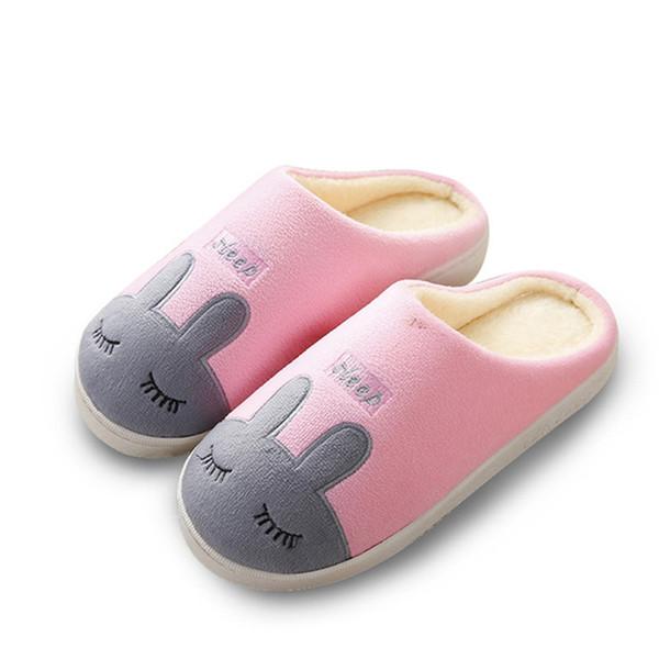 Piso Compre Animados Antideslizantes Para Dormitorio Zapatillas Zapatos Felpa Mujer De Dibujos Invierno Del Casa 2H9EDI