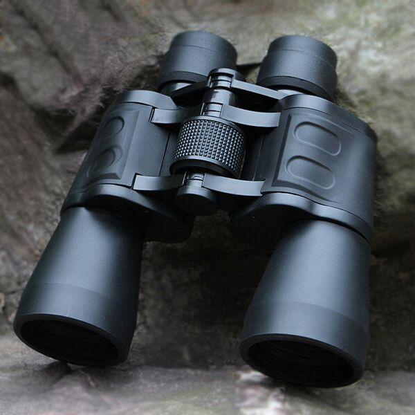 Télescope binoculaire de la définition supérieure 10 * 50 de catégorie supérieure de mode pour les télescopes de chasse de lentille de la puissance élevée BAK4 d'armée
