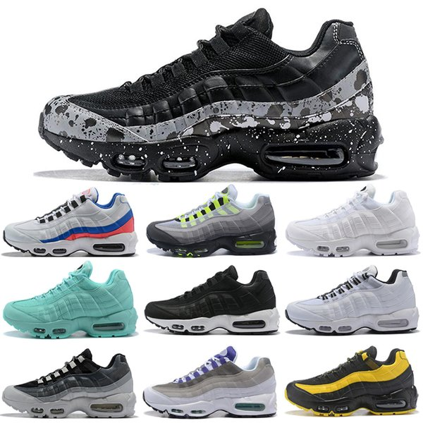 Nike Air Max 95 Shoes Zapatillas De Running Para Hombre Mujeres Throwback Future Greedy Triple White Yellow Pull Tab Negro Red Bred Designer Sports