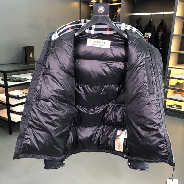 Brand Mens Jacket Fashion Luxury Down Coat Men Winter Keep Warm Parka Zipper Coat Mens Hoodie Jacket Outdoor Windbreaker XA B102523K