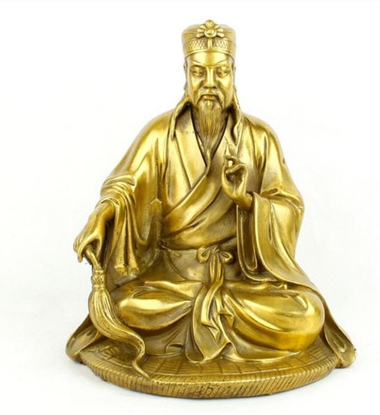 NEW +Copper bronze ornaments give marriage Taoist sin responsive Buddha figures of the new classical living rooM