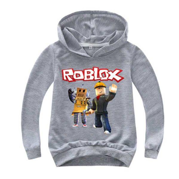 2020 Roblox Hoodies Shirt For Boys Sweatshirt Red Noze Day Costume