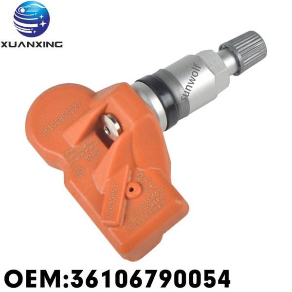 best selling 36106790054 Tire Pressure Sensor Monitoring System TPMS 433Mhz For 5 GT 2011-2016 RDE012