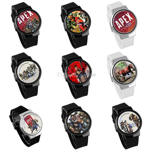 Apex legends Boys Watch Waterproof Led Touch Screen Wrist Cartoon Watches Kids toys Birthday christmas Gift