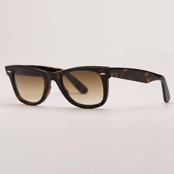 Tortoise-brown gradient lenses