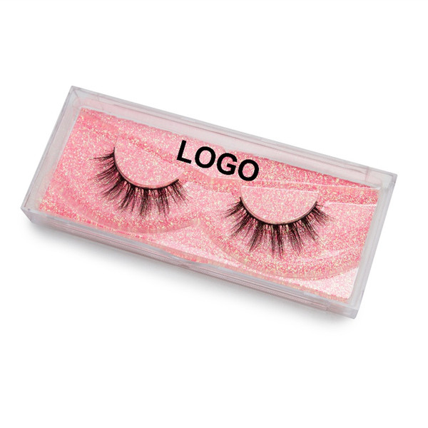 Big Eye's Secret 10pairs 3D Silk Strip Eyelashes Russian Volume Lash Private Logo Silk Eyelash Eyelash Extension Free Shipping