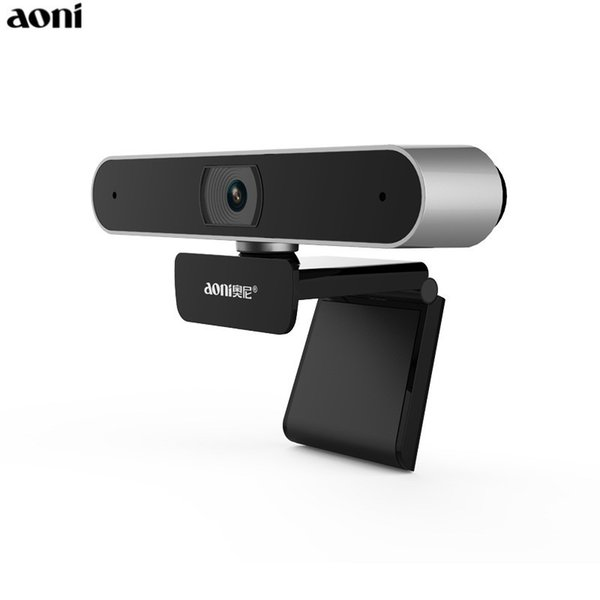 Aoni Full HD 1080P WebCam Computer Laptop Camera With Built-in MIC Home Network Smart TV Live AF Web Cam Beauty USB Cameras A30