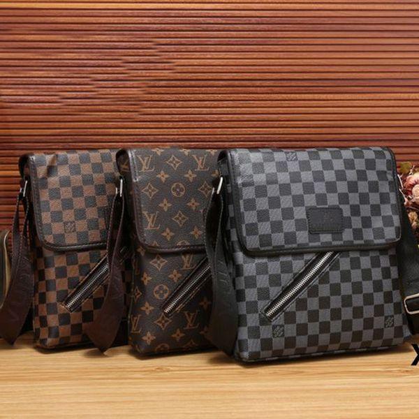 2019 NEUE Modemarke Mens Kleine Leinwand Messanger Taschen Crossbody Umhängetaschen für Männer Business Outdoor Casual Traver Kleine Handtaschen Geldbörse