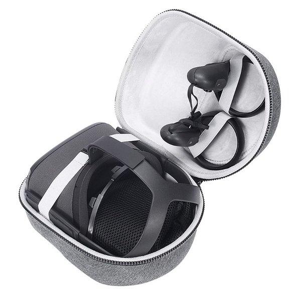 Accesorios de gafas VR / AR EVA Hard EVA Bolsa de almacenamiento de viajes Caja de estuche para Oculus Quest Sistema y accesorios de realidad virtual