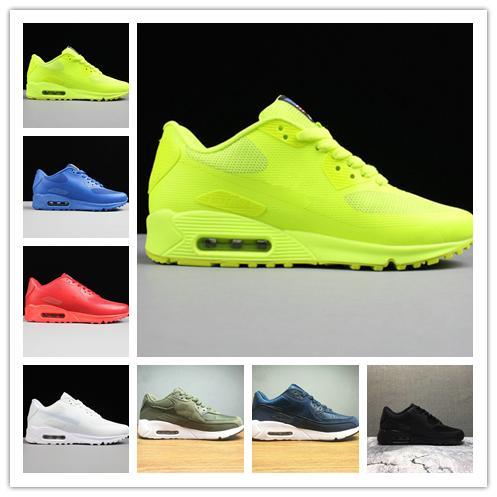 Klasik Chaussures hommes Max90 HYP PRM QS Koşu Ayakkabıları Satış Çevrimiçi Moda Bağımsızlık Günü Zapatillas ABD Bayrağı Spor Sneakers 40-46