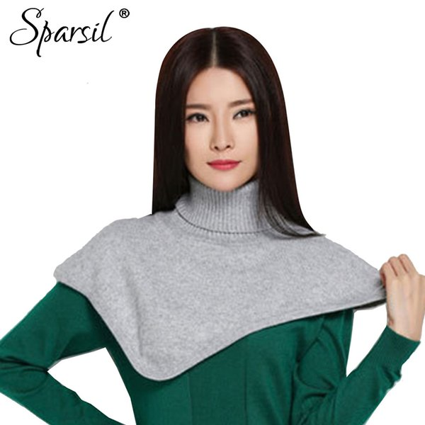 wholesale Women Cashmere Blend Ring Scarves Solid Colors Autumn&Winter Soft Turtleneck Scarf All-Match